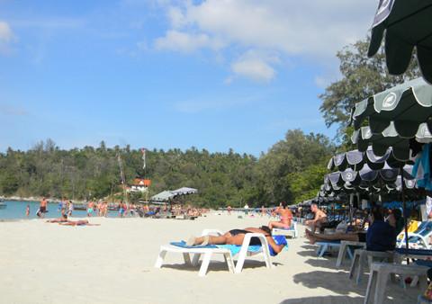 пляж kata beach