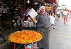 повар на рынке
